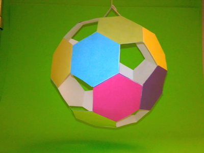 Papercraft Hollow Ball